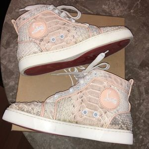 AUTHENTIC CHRISTIAN LOUBOUTIN PYTHON SNEAKER